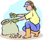 Bagging Yard Waste