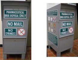 Lake County Opiate Task Force Drug Disposal Drop-Off Bins