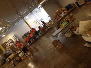 ZeroLandfill warehouse