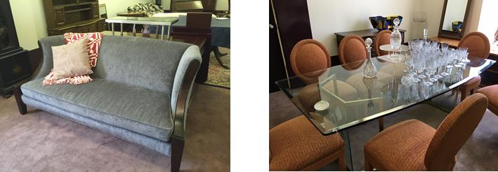Examples of furniture available at this sale